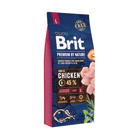 Brit Premium by Nature Junior L, 15 kg, pui0