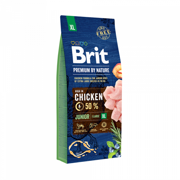 Brit Premium By Nature Junior XL 15 Kg 0
