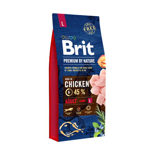Brit Premium By Nature Adult L 15 Kg Livrare GRATUITA 0