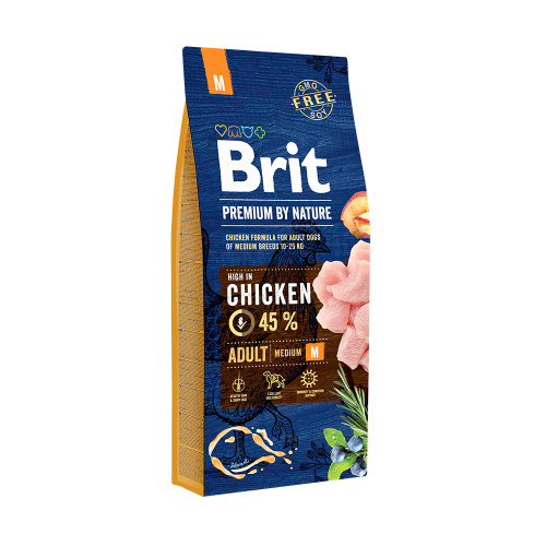 Brit Premium By Nature Adult M 15 Kg Livrare GRATUITA