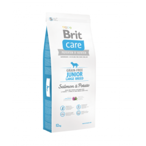 Brit Care Junior Large Breed cu Somon 12 Kg Livrare GRATUITA 0