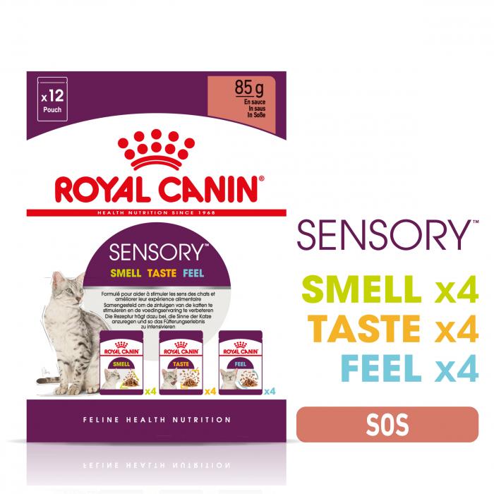 Royal Canin Sensory, hrana umeda pisici, stimularea simturilor (in sos), 12 x 85 g [5]