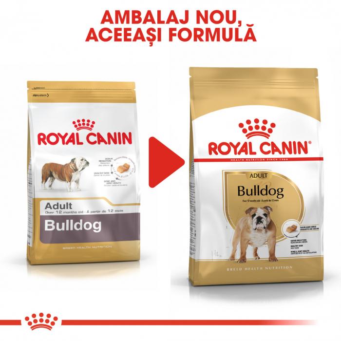 Royal Canin Bulldog Adult hrana uscata caine 4