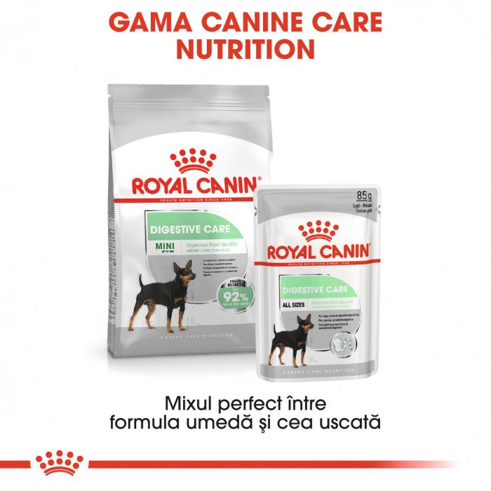 Royal Canin DIGESTIVE CARE LOAF 12X85G Hrana Umeda Caine 4