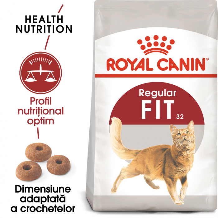 Royal Canin FIT32 Hrana Uscata Pisica 0
