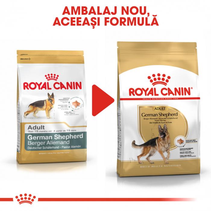 Royal Canin German Shepherd Adult hrana uscata caine Ciobanesc German, 11 kg [4]