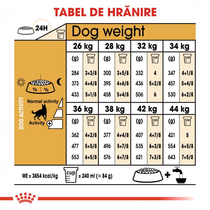 Royal Canin GERMAN SHEPHERD Adult Hrana Uscata Caine 5