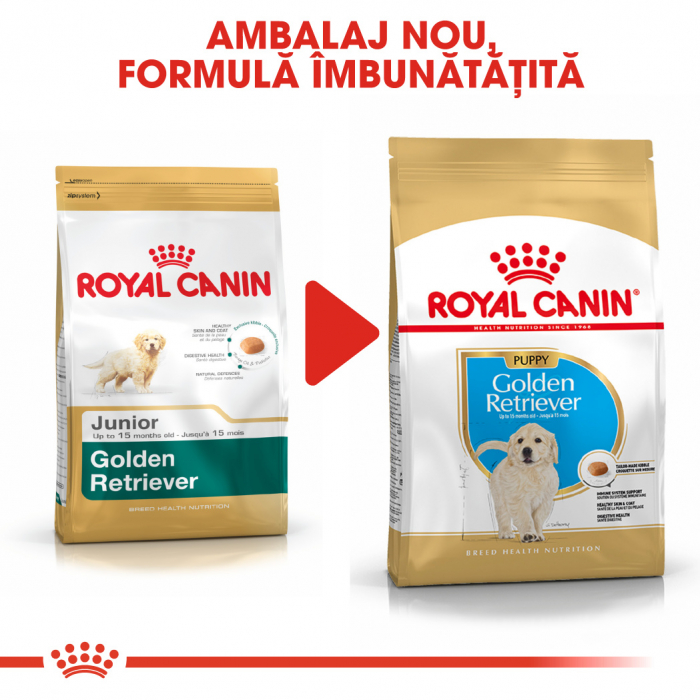 Royal Canin Golden Retriever Puppy hrana uscata caine junior 6