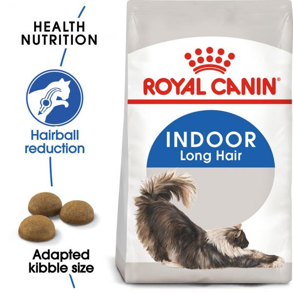 Royal Canin INDOOR LONG HAIR Hrana Uscata Pisica