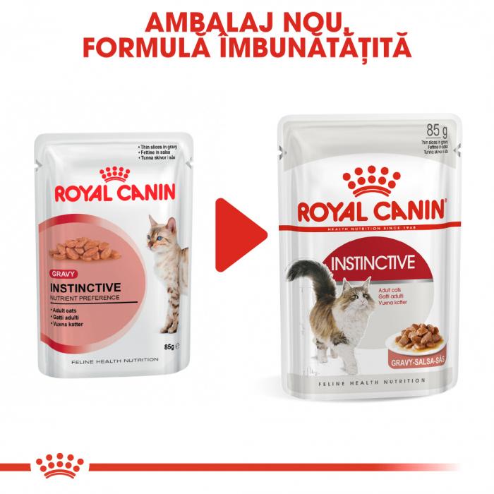 Royal Canin INSTINCTIVE Gravy Hrana Umeda Pisica 6