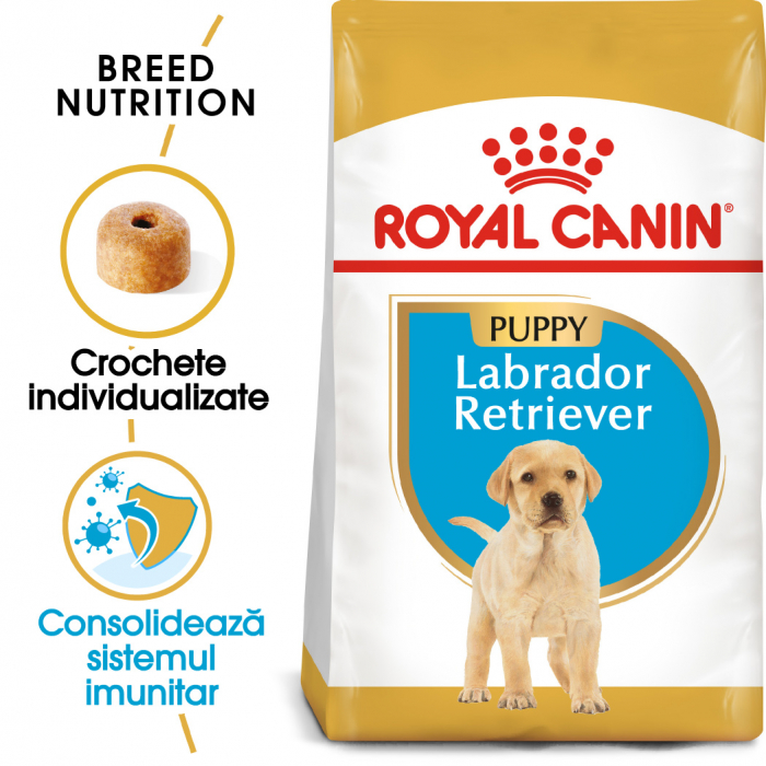 Royal Canin LABRADOR RETRIEVER Puppy Hrana Uscata Caine 0