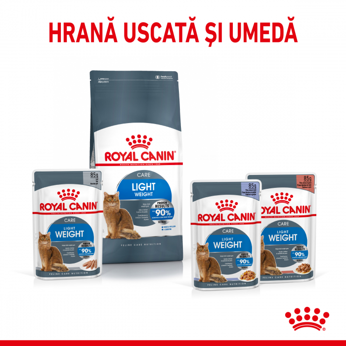 Royal Canin Light Weight Care Adult  hrana uscata pisica limitarea cresterii in greutate, 400 g - TEST 1