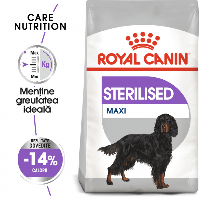 Royal Canin MAXI STERILISED Hrana Uscata Caine 0
