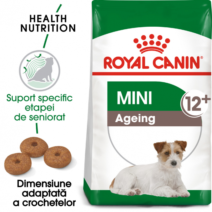 Royal Canin Mini Adult 12+ hrana uscata caine senior, 1.5 kg 0