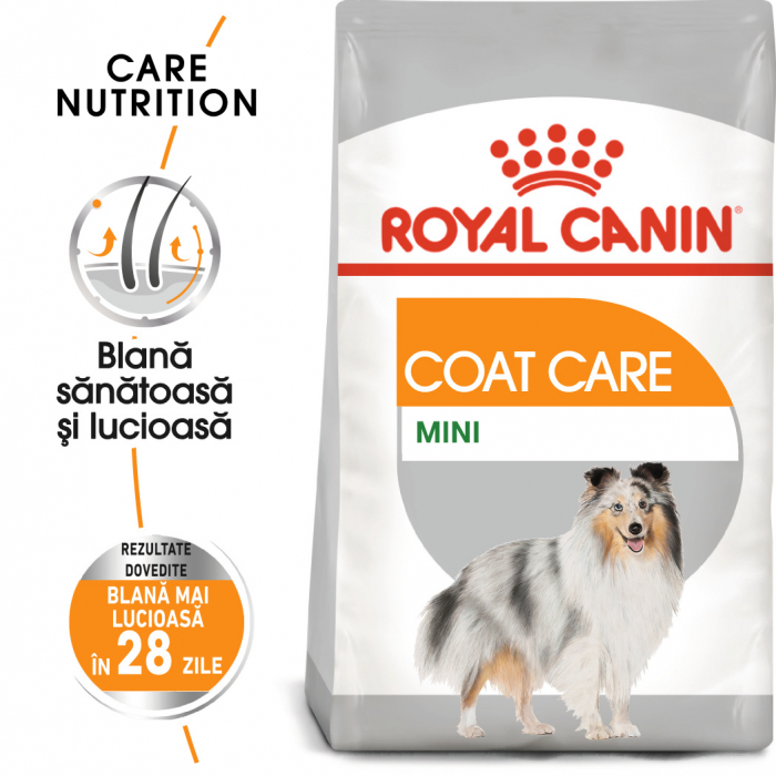 Royal Canin MINI COAT CARE Hrana Uscata Caine 0