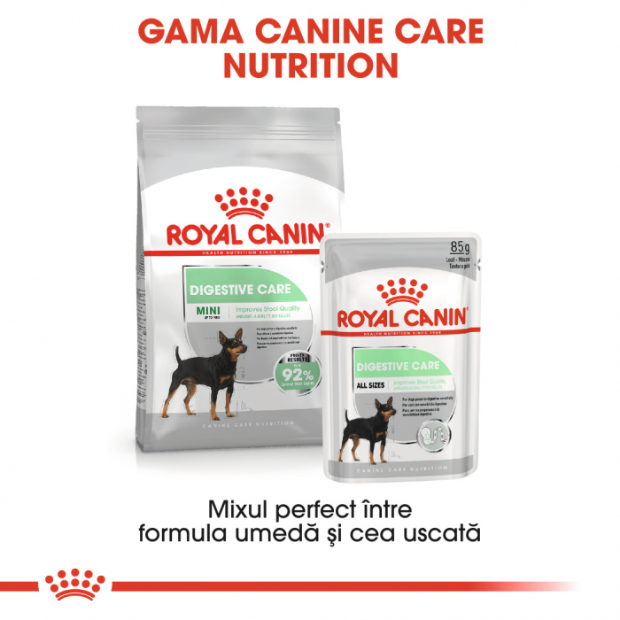 Royal Canin Mini Digestive Care Hrana Uscata Caine 5