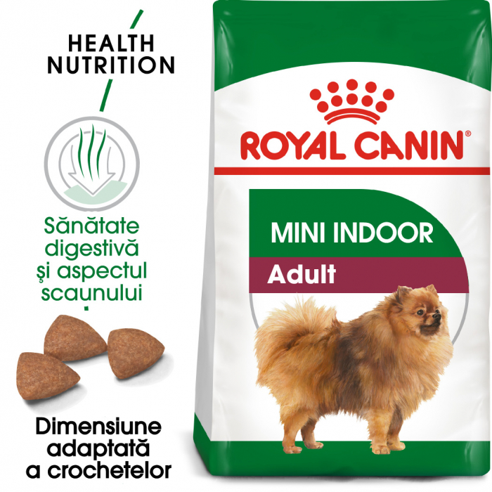 Royal Canin Mini Indoor Adult Hrana Uscata Caine 0