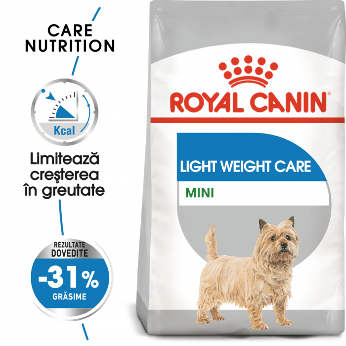 Royal Canin Mini light weight care Hrana Uscata Caine 0