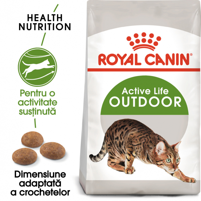 Royal Canin OUTDOOR Hrana Uscata Pisica
