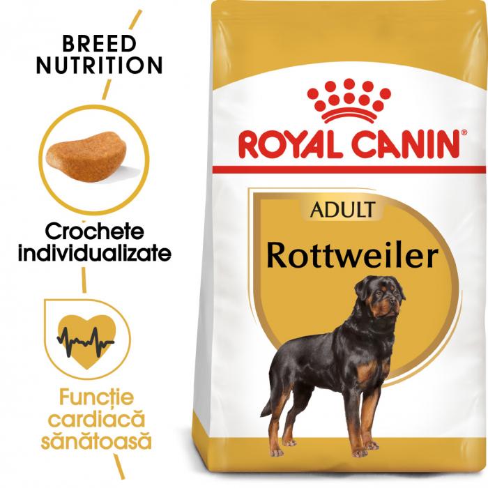 Royal Canin ROTTWEILER Adult Hrana Uscata Caine 0