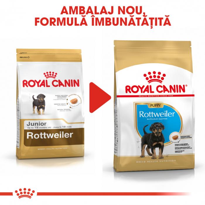 Royal Canin ROTTWEILER Puppy Hrana Uscata Caine 6