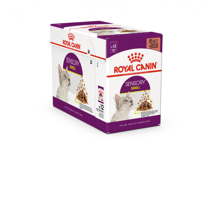 Royal Canin Sensory Smell, hrana umeda pisici, stimularea mirosului (in sos), 12 x 85 g [0]