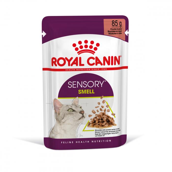 Royal Canin Sensory Smell, hrana umeda pisici, stimularea mirosului (in sos), 12 x 85 g [9]