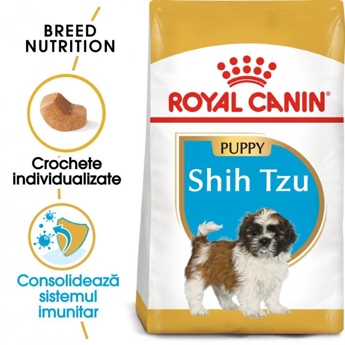Royal Canin SHIH TZU Puppy Hrana Uscata Caine 0