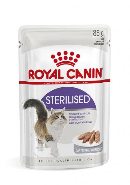Royal Canin STERILISED Loaf Hrana Umeda Pisica