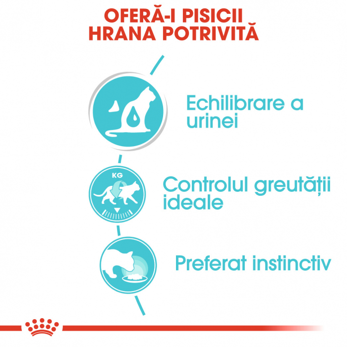 Royal Canin URINARY CARE Hrana Umeda Pisica 2