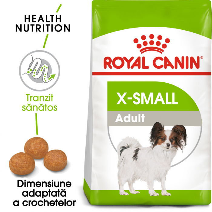Royal Canin X-Small Adult hrana uscata caine 0