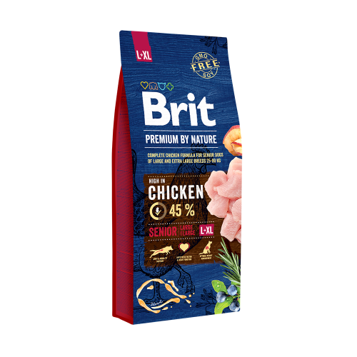 Brit Premium Senior By Nature L si XL 15 Kg Livrare GRATUITA 0