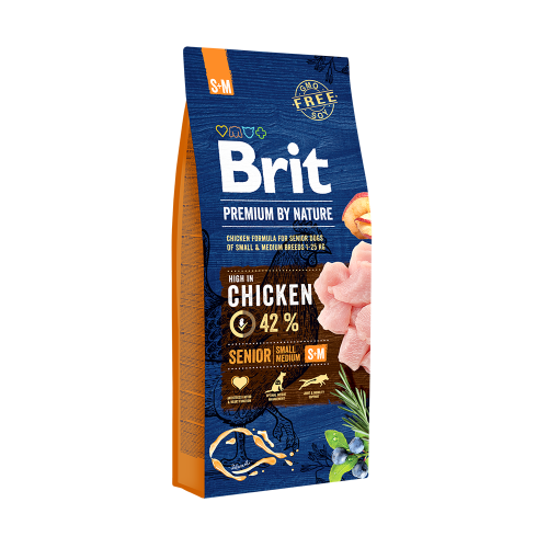 Brit Premium Senior By Nature S si M 15 Kg Livrare GRATUITA 0