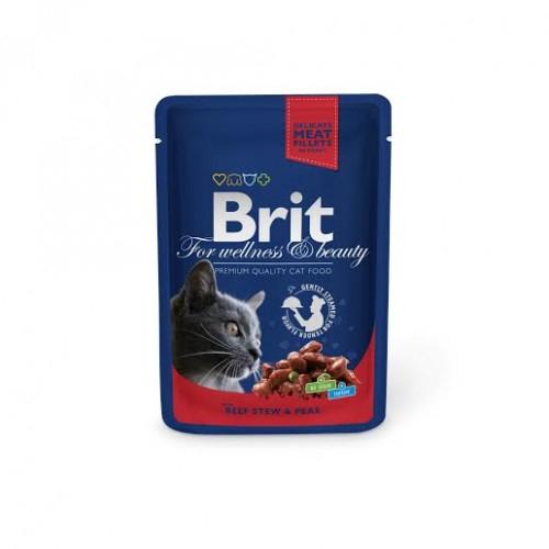 Brit Premium Cat Plic Vita Mazare 100 g 0