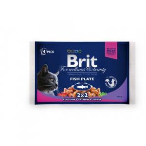 Brit Premium Sterilised Cat Pui 100 g0