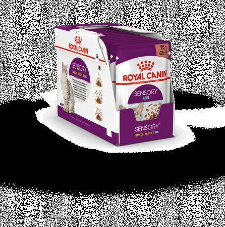 Royal Canin Sensory, hrana umeda pisici, stimularea simturilor (in sos), 12 x 85 g [0]