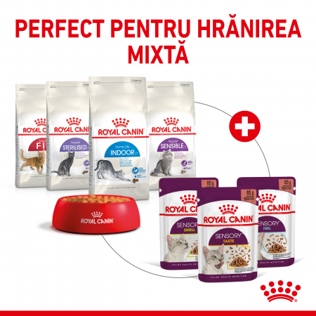 Royal Canin Sensory Feel, hrana umeda pisici, stimularea simtului tactil (in sos), 12 x 85 g [5]