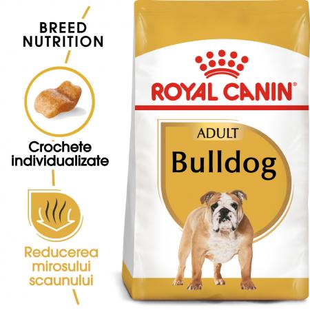 Royal Canin BULLDOG Adult Hrana Uscata Caine0