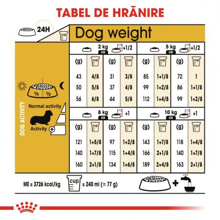 Royal Canin DACHSHUND Adult Hrana Uscata Caine5