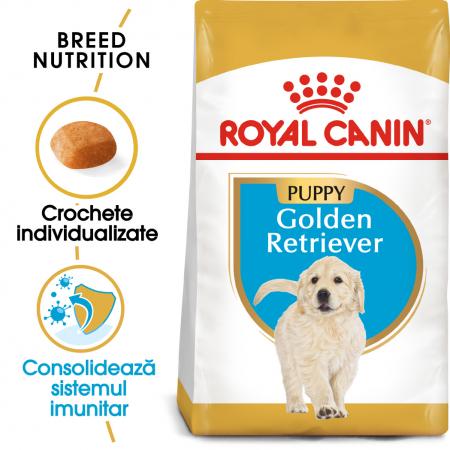 Royal Canin Golden Retriever Puppy hrana uscata caine junior, 3 kg [0]