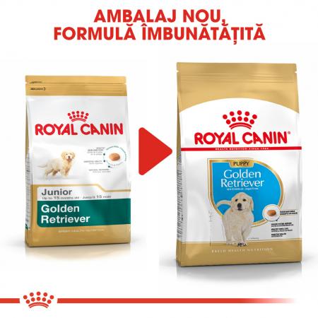 Royal Canin Golden Retriever Puppy hrana uscata caine junior, 3 kg [6]