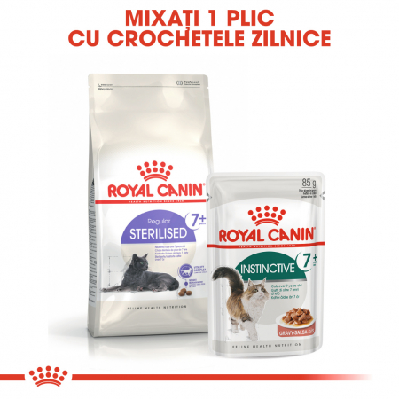 Royal Canin INSTINCTIVE 7+ Gravy Hrana Umeda Pisica5