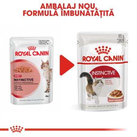 Royal Canin INSTINCTIVE Gravy Hrana Umeda Pisica6