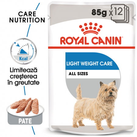 Royal Canin LIGHT Loaf 12x85g Hrana Umeda Caine0