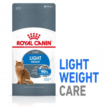 Royal Canin Light Weight Care Adult  hrana uscata pisica limitarea cresterii in greutate, 400 g - TEST0