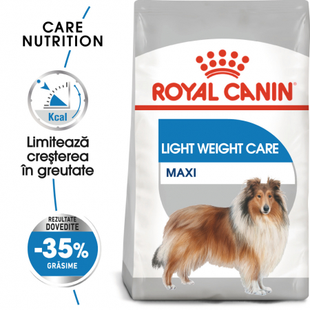 Royal Canin Maxi Maxi light weight care Hrana Uscata Caine0