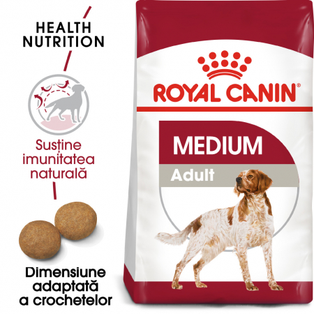 Royal Canin MEDIUM Adult Hrana Uscata Caine0