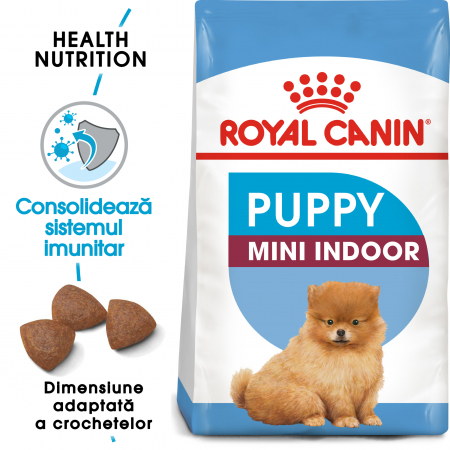 Royal Canin Mini Indoor Puppy Hrana Uscata Caine