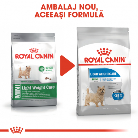 Royal Canin Mini light weight care Hrana Uscata Caine1