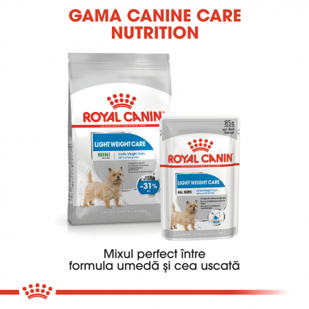Royal Canin Mini light weight care Hrana Uscata Caine5